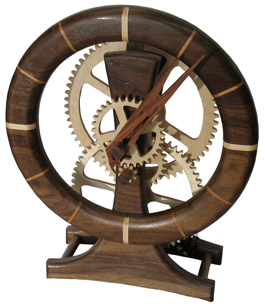 Wooden Gear Clock - Chuck Hays