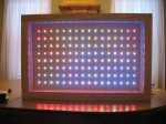 LED wall frame.